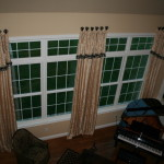 Drapery and Valances on Medallions